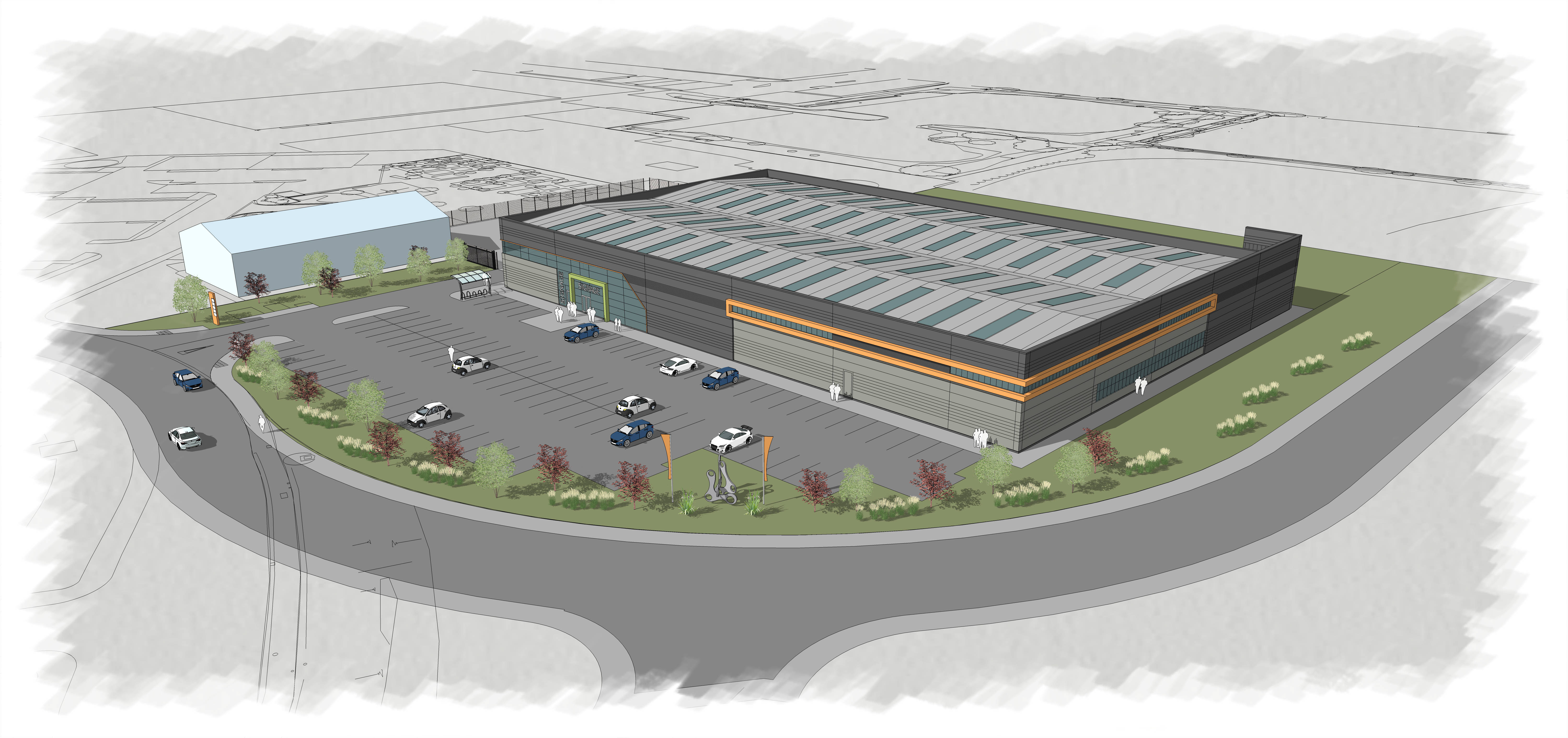 DEVELOPMENT OF NEW COMMERCIAL UNIT AT BLACKPOOL AIRPORT ENTERPRISE ZONE  GETS THE GO AHEAD