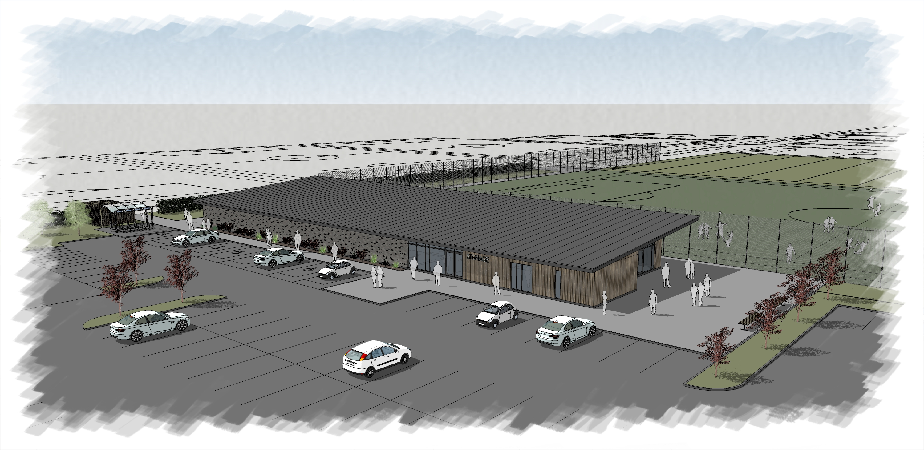 Plans revealed for new Blackpool Airport Enterprise Zone sports facilities