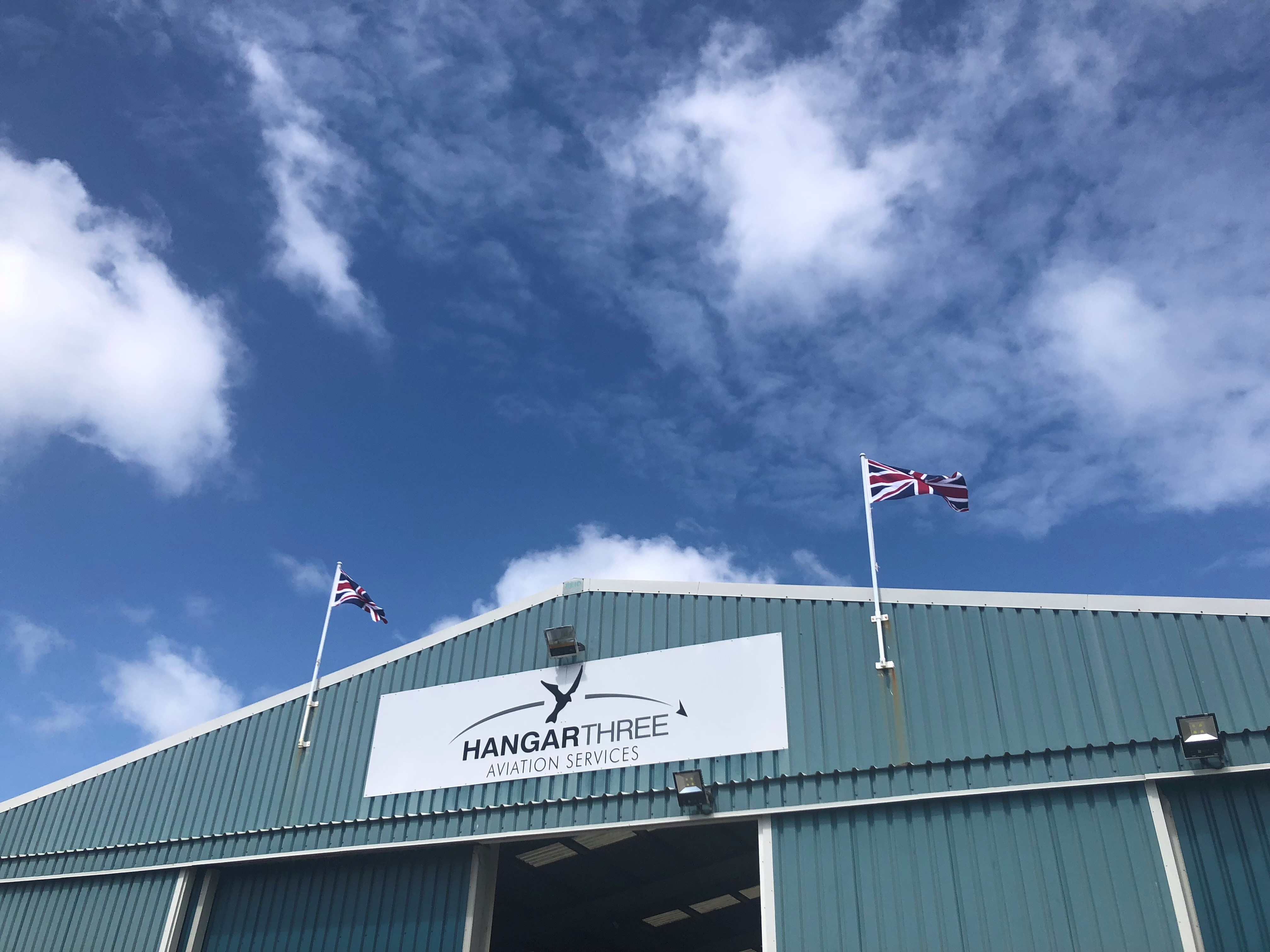 Covid 19 PCR Tests with Hangar 3 at Blackpool Airport